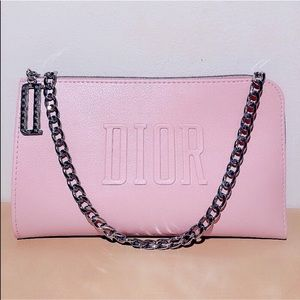 NEW Dior Beaute Mini Pouch Bag (pink)